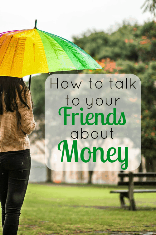 How to talk to your friends about money. This helped me so much! Must read! Great advice for handing the tricky situation of talking to your friends about money!