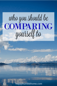 Who You Should be Comparing Yourself to