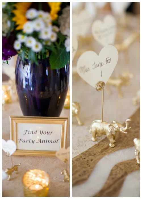 5 Ways to Save Money on your Wedding. Find your Party Animal Escort card holders