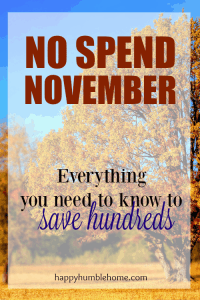 No Spend November: Everything you need to know to boost your bank account in time for the holidays