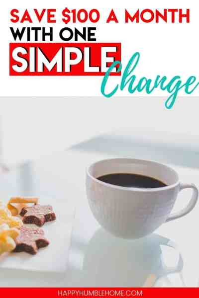 You have to read about this simple money saving hack! This post will teach you how one simple change can help you save serious money each and every month! It's super easy too!