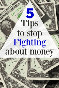 5 Tips to Stop Fighting about Money