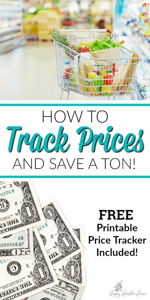 How to Track Prices and always get the best price - Wow! I thought I know how much things cost, then I started doing this! I am saving so much money just by knowing when things are really a good deal! Great printable!!