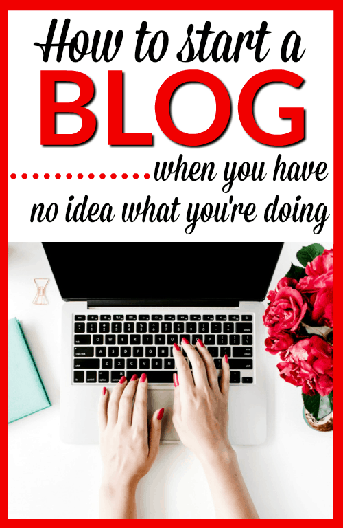 How to Start a Blog when you have no idea what you're doing - Learn how to get your blog set up so you can be successful and profitable from the beginning. This tutorial explains every part of setting up your blog in an easy to understand way for people who are not technical.