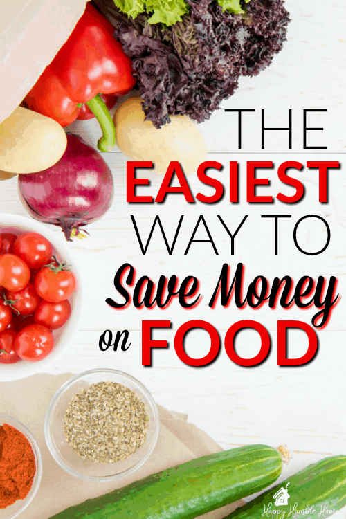 The Easiest way to Save Money on Food - If you're paying way too much for food, you are probably making this big money mistake. Learn how to save money on food with this one simple swap.