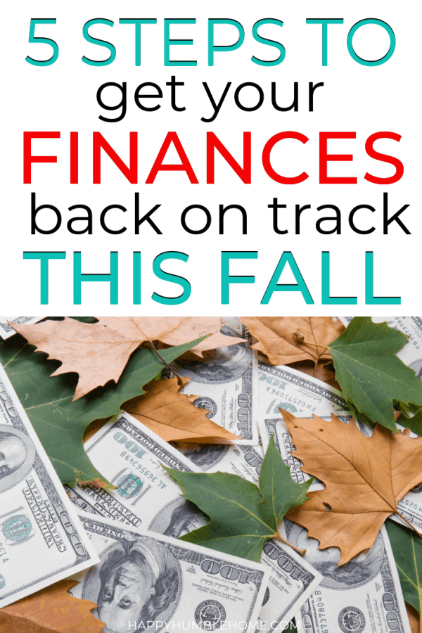 5 Steps to recover from summer spending and get Back on Track This Fall