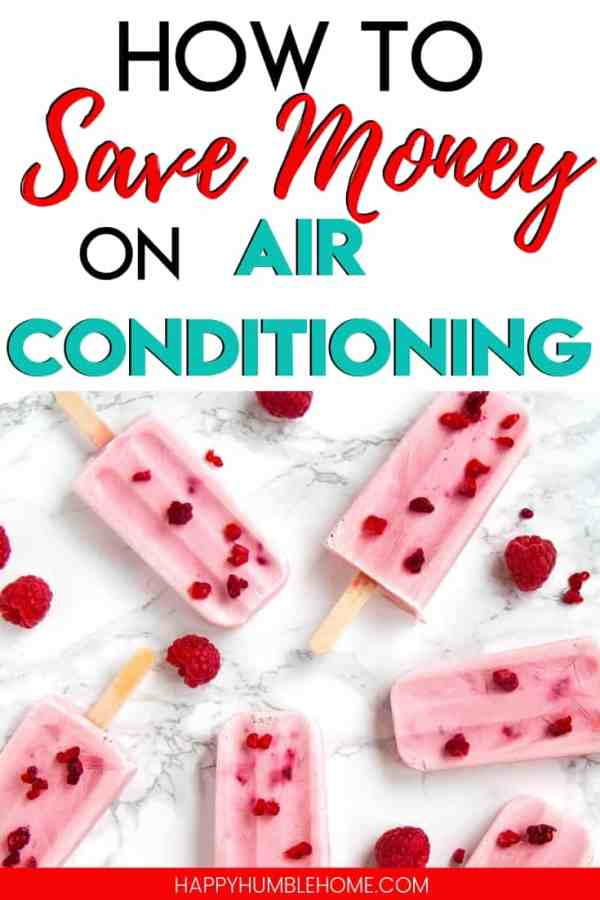 How to Save Money on Air Conditioning - Learn simple strategies to lower your electricity costs while you're running your central air this summer. You don't need to turn your A/C off to save money! You can stay cool and spend less with these 10 easy tips!