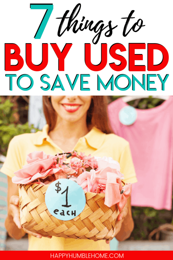 things to buy used to save money