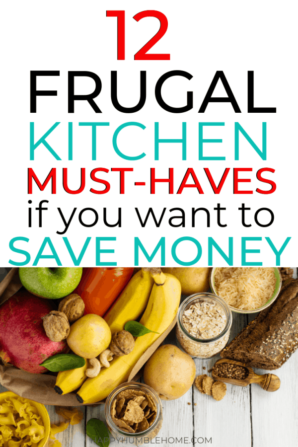 frugal kitchen essentials if you want to save money