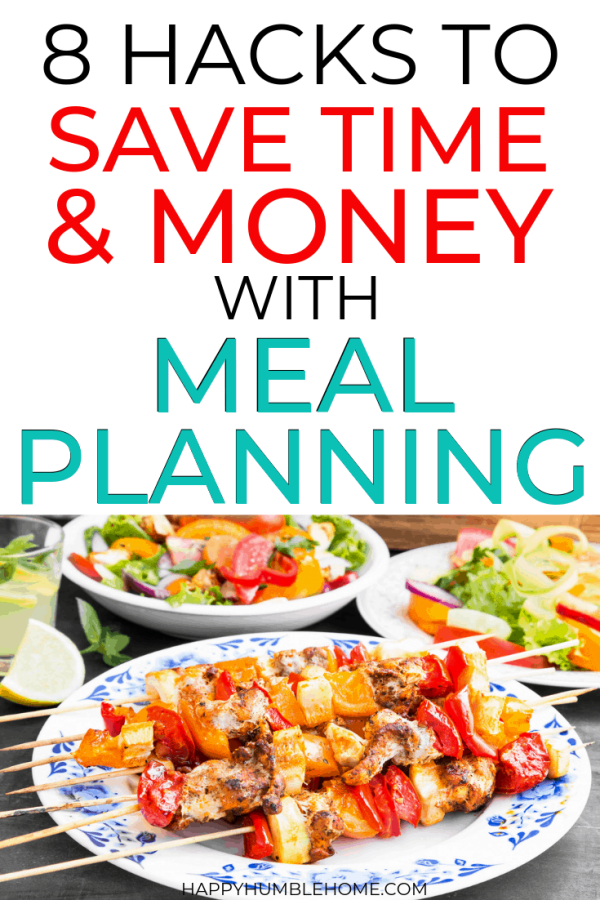 simple hacks to save time and money with meal planning