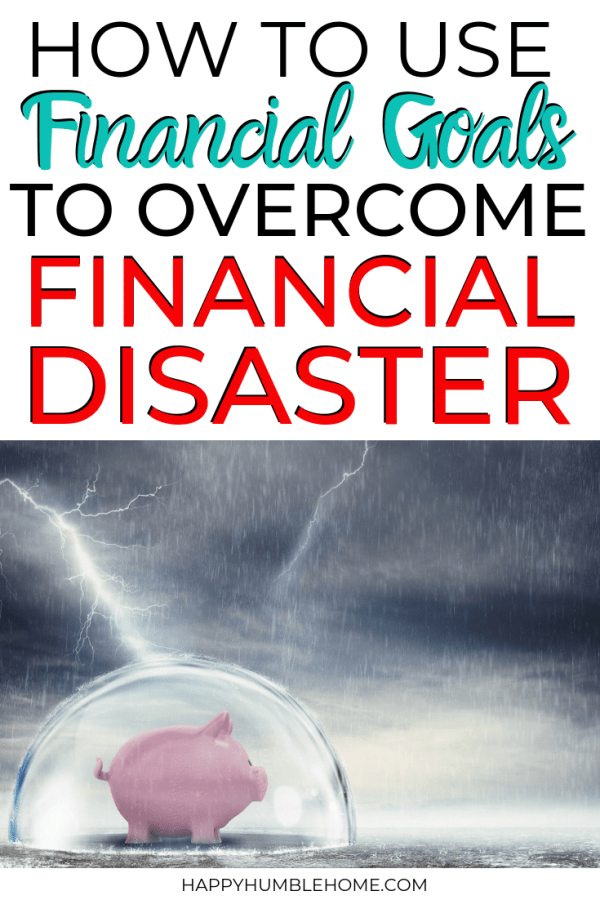 How to overcome financial disaster
