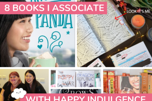 BLOG PARTY: 8 Books/Series I Associate with Happy Indulgence + INTL Giveaway