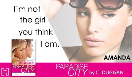 Paradise City Card Amanda