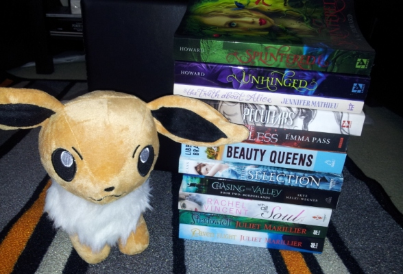 Stacking the Shelves #28 – Diversity in Books & Eevee