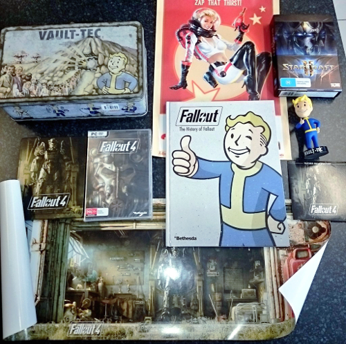 Read Play Blog #16 – Fallout 4 & Finding Time for Gaming