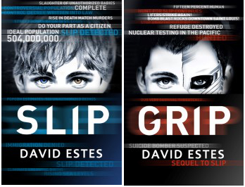 Blog Tour, Giveaway & Review: Slip by David Estes