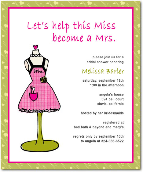 Funny Wedding Shower Invitations