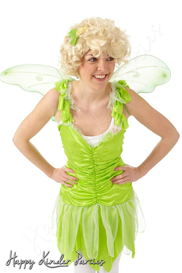 Tinkerbell Childrens Party Entertainer Costume