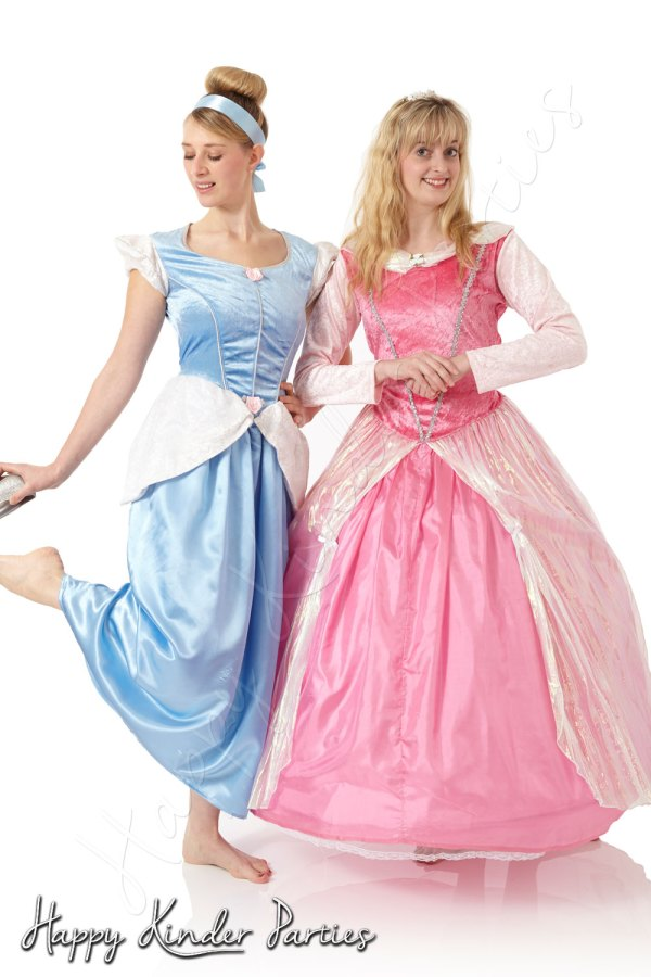 Princess Duo Childrens Party Entertainer Costume