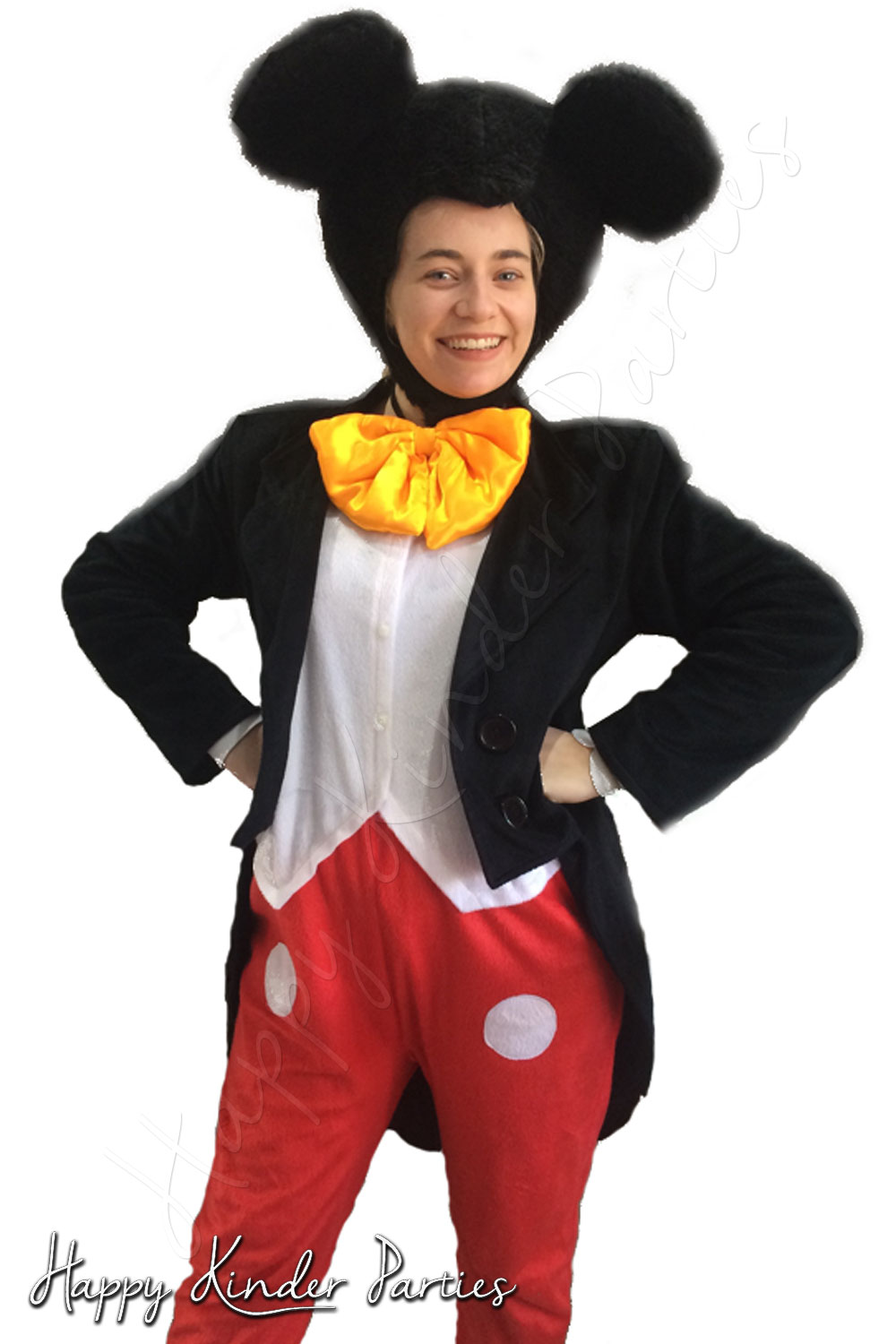 Mickey Mouse Childrens Party Entertainer Costume