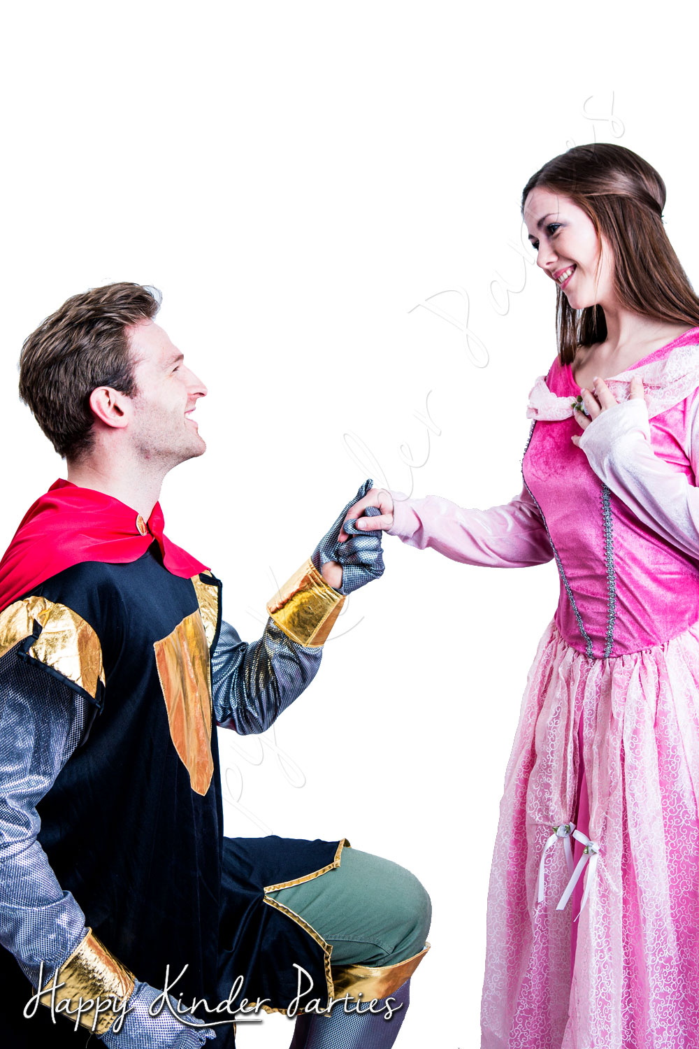 Princess & Knight Childrens Party Entertainer Costume