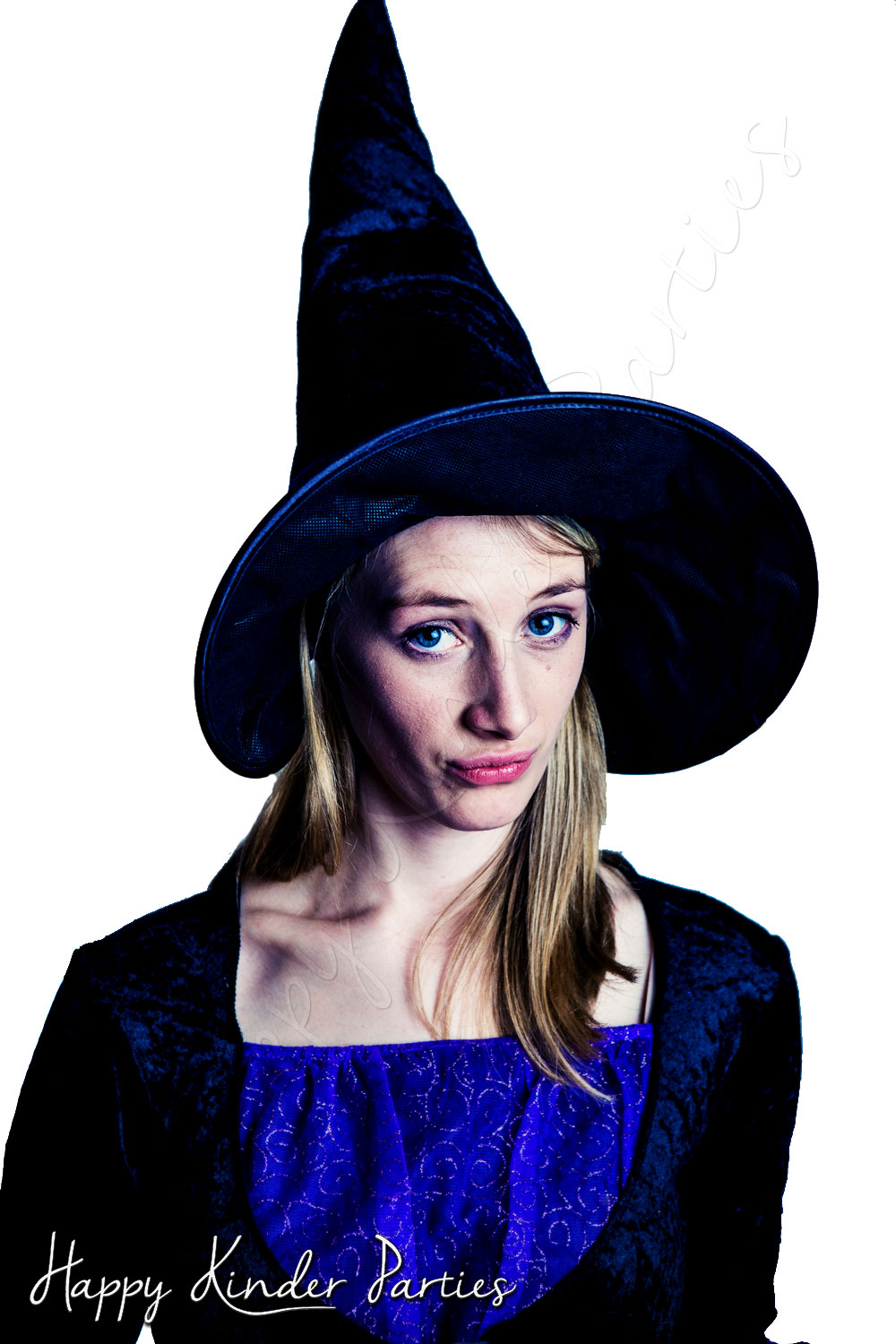 Witch Childrens Party Entertainer Costume