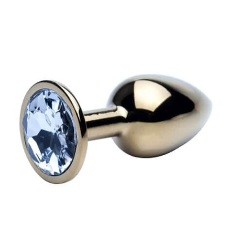 Precious Metals Jewelled Butt Plug