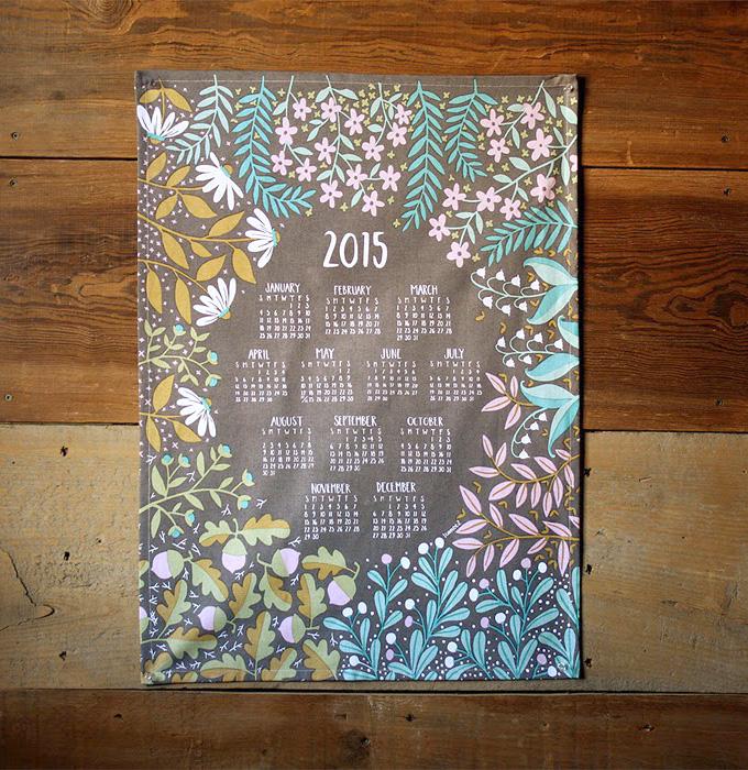 1canoe2 teatowel calendar