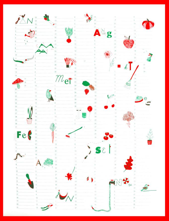 Chloë Janssens Calendar 2015