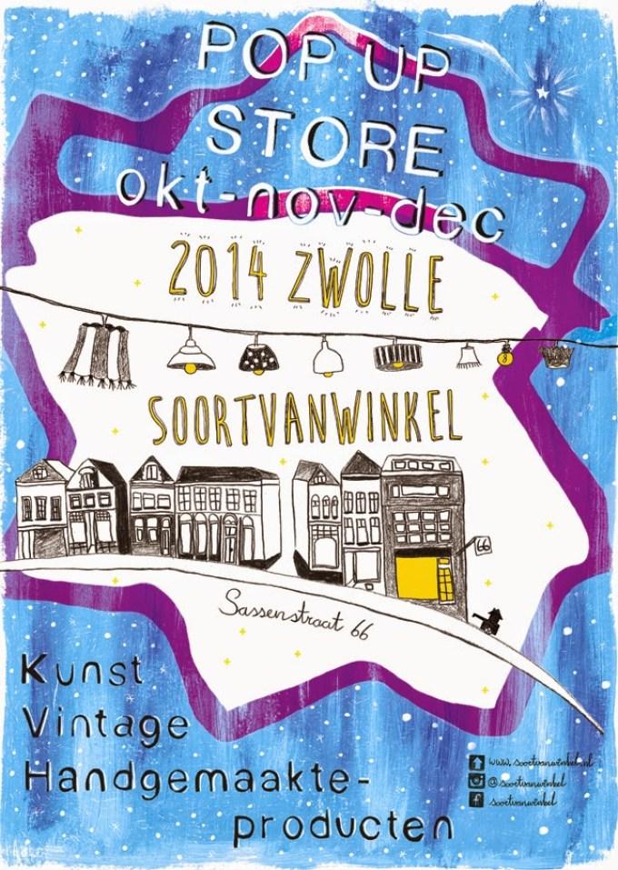 PopUpStore Soort van Winkel Zwolle