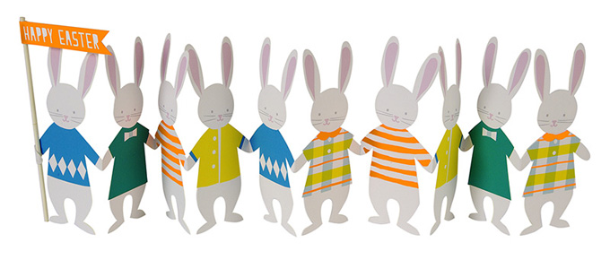 easter meri meri bunnies