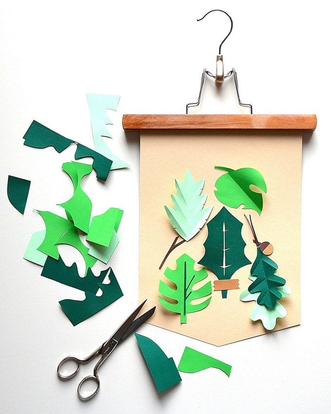 Workshop PapierAtelier Botanische prent 1