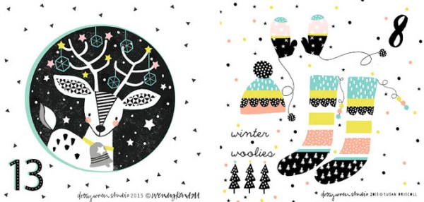 dotty wren 13&8 advent