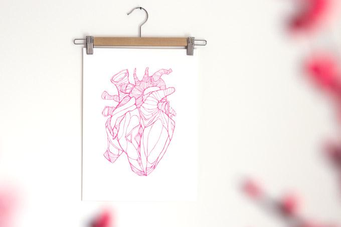 Happy Valentine Karakterprints