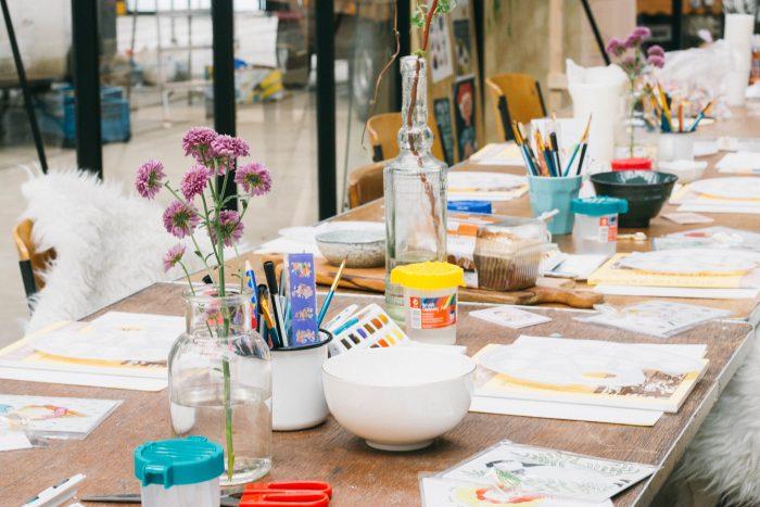 Studio Peonia Workshop portret tekenen HappyMakersBlog