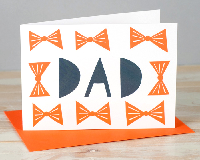 alisonhardcastle fathersday postcard dad orange