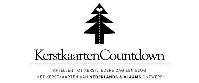 Populair Aftellen met kerstkaarten: nog 5 dagen tot kerst - Happymakersblog LZ32