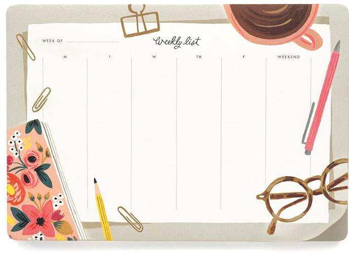 desk planner riflepaperco happymakersblog