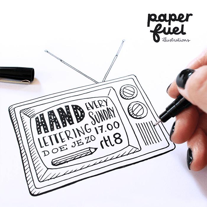 Aan de tekentafel Paperfuel 2HappyMakersBlog