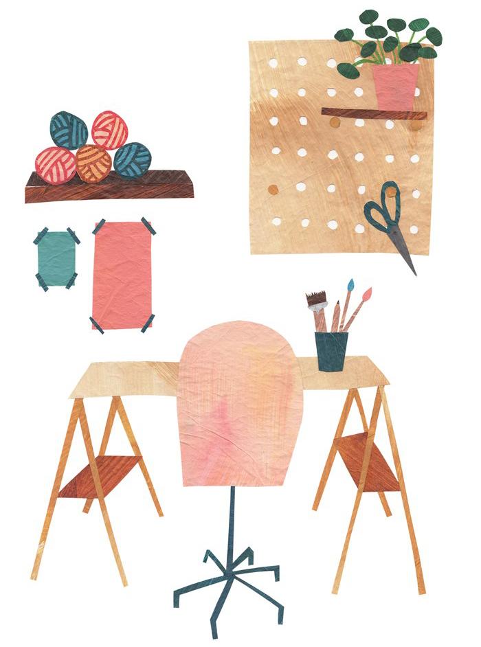 PapierAtelier Flavourites Feest Werkplek Henrieke Schuiling
