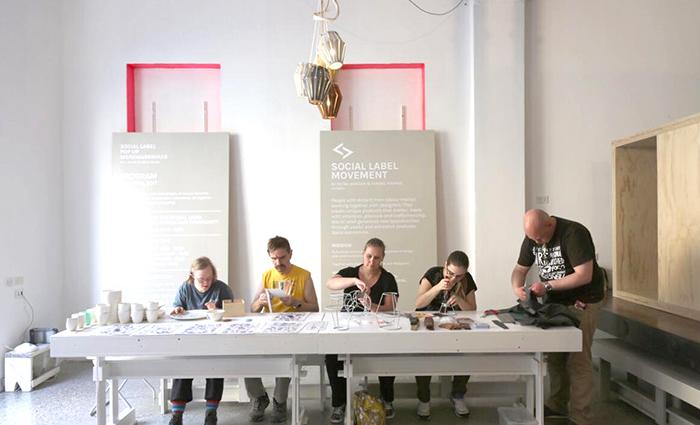 Social Label Workshops Milaan 2017