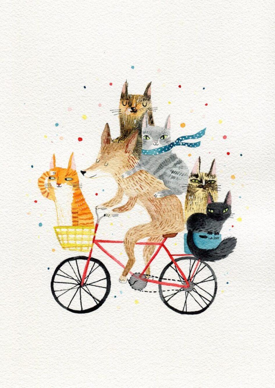 dierendag animal illustration