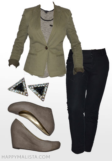 business casual wardrobe capsule outfit