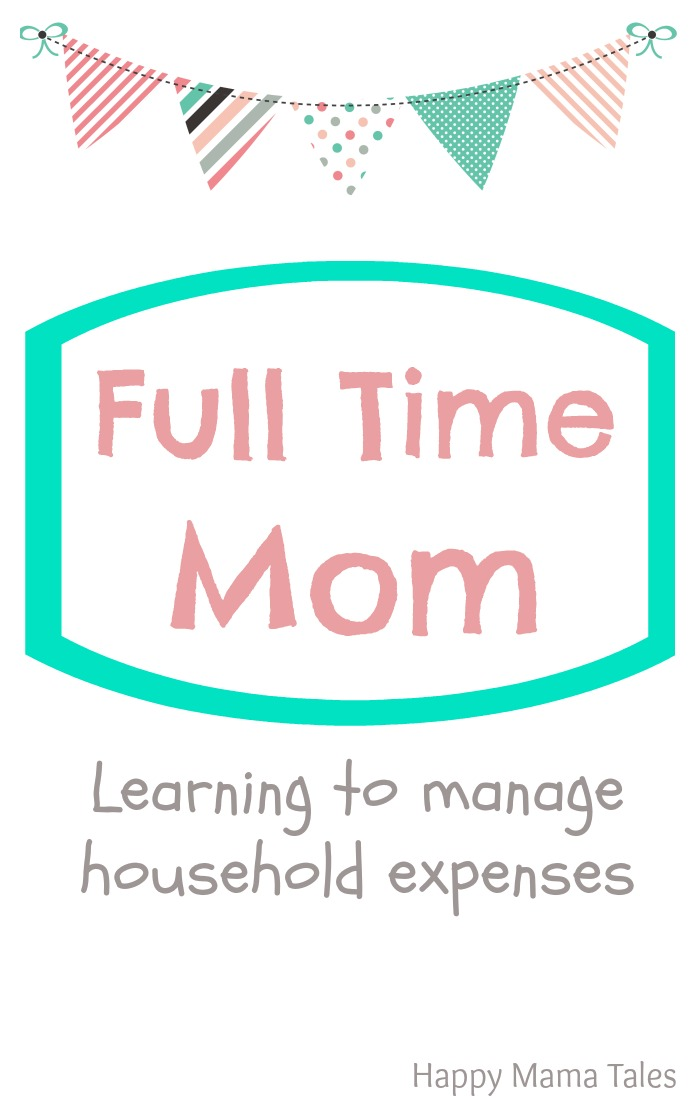 Being a full time mom is challenging with all the responsibilities we have! Here are some AWESOME tips for learning to manage household expenses