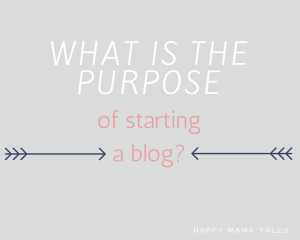What is the purpose of blogging?