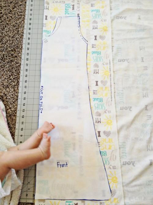 DIY Sleep Sack Make Your Pattern
