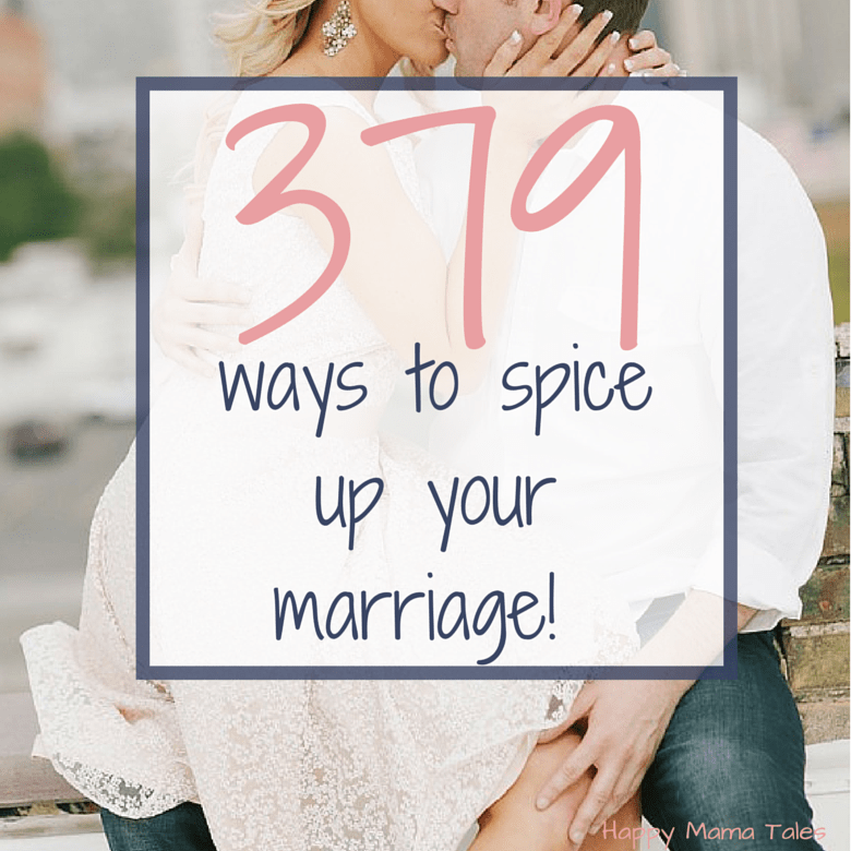 holy cow I totally love this list!! There are so many great ways to spice up any marriage!!