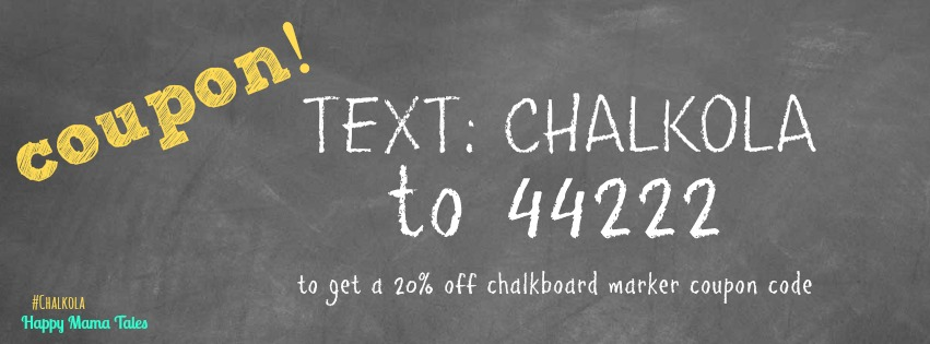 12 fun things you can do with chalkboard markers coupons inside coupon code for chalkboard markers text chalkola to 44222 get the best chalkboard markers fandeluxe Images