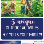 5 Unique Outdoor Family Activities