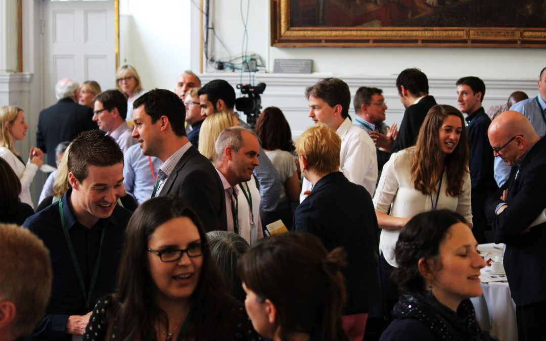 Speed networking at Happy Workplaces 2017